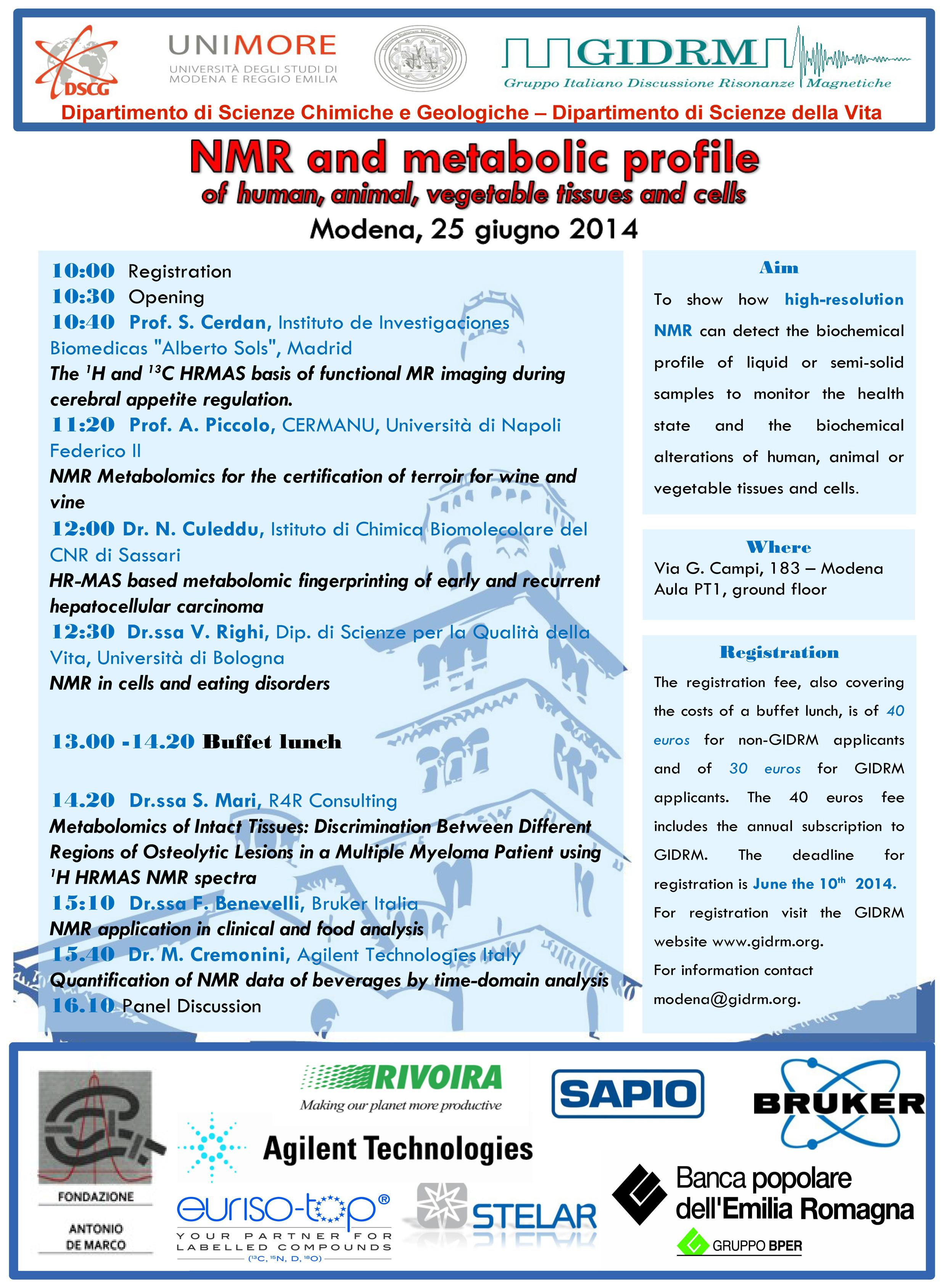 Workshop Modena 25 giugno 2014